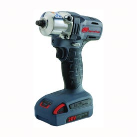 Ingersoll Rand W5130-K12 Impact Wrench Kit, Kit, 20 V Battery, 2.5 Ah, 3/8 in Drive, Square Drive, 180 ft-lb