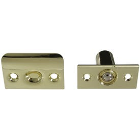 National Hardware MPB716 Series N830-281 Ball Catch, Steel, Polished Brass
