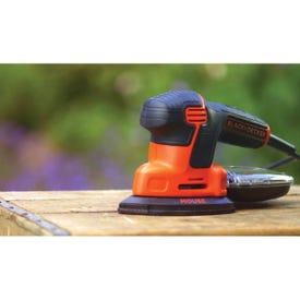 Black+Decker Mouse BDEMS600 Detail Sander, 1.2 A
