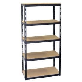 Storage Concepts SCB0750D Boltless Shelving Unit, 2250 lb Capacity, 5-Shelf, 30 in OAW, 15 in OAD, 60 in OAH