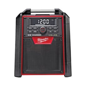 Milwaukee 2792-20 Jobsite Radio, Kit, 18 V Battery, 1.5 to 4 Ah, 10 -Channel, Battery Included: Yes