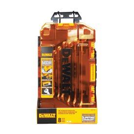 DeWALT DWMT73809 Wrench Set, 8-Piece, Polished Chrome, Specifications: Metric Measurement