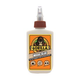 Gorilla 6202003 Wood Glue, Light Tan, 4 oz Bottle