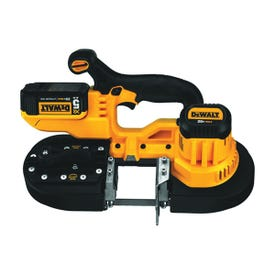DeWALT DCS371P1 Band Saw Kit, 20 V, 32-7/8 in L Blade, 2-1/2 in Cutting Capacity, 570 fpm Speed