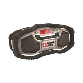 PORTER-CABLE PCC771B Bluetooth Radio, Bare Tool, 20 V Battery, 1.5 Ah, 12 -Channel, Battery Included: No