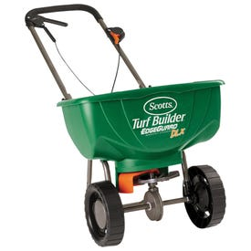Scotts Turf Builder 76232 Broadcast Spreader, 10,000 sq-ft Coverage Area