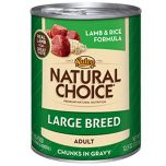 Nutro Natural Choice Large Breed Lamb and rice Adult Dog Food Can