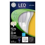 Ge Lighting 13w White Omni Directional A21 Led Bulb