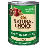 Nutro Natural Choice Original Lamb and Rice Formula 12.5 oz