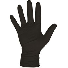 Boss Disposable Nitrile Gloves Black XL, 100 pack