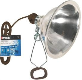 Prime Wire & Cable Clamp Lamp 8 1/2