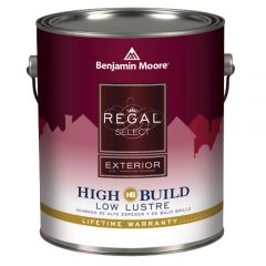 Benjamin Moore Regal Select Exterior Low Lustre White Gal