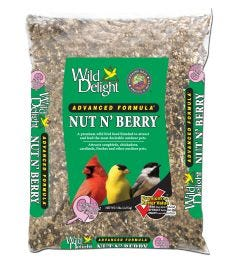 Wild Delight® Nut N' Berry® Blend Bird Seed, 8lbs