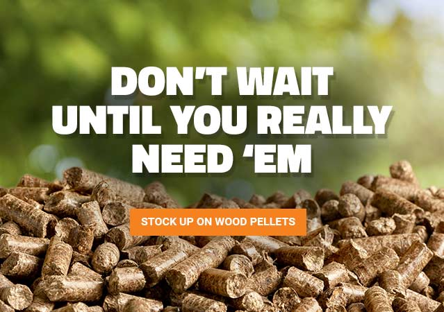 Stock Up On Wood Pellets