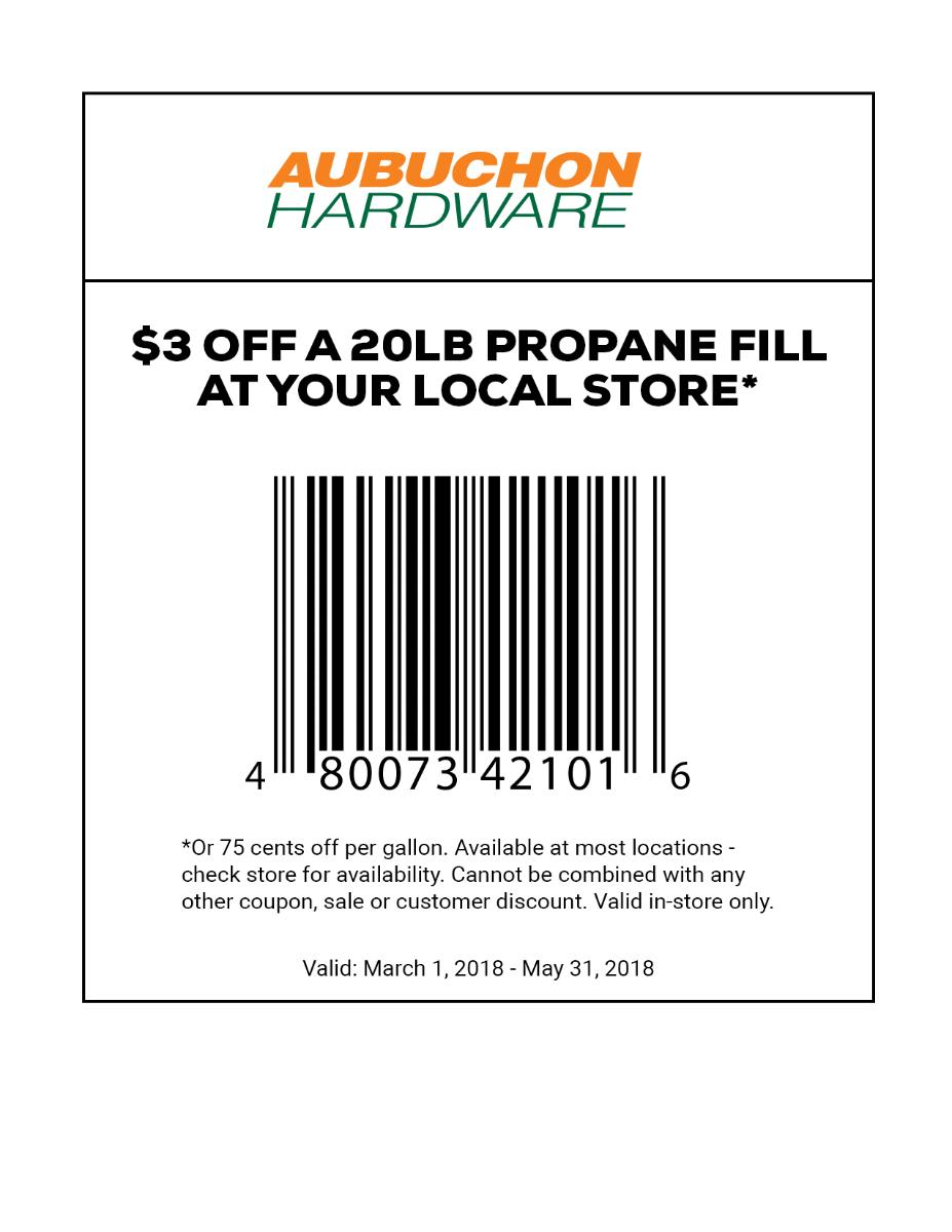 Aubuchon Hardware : Propane Tanks - Grill Accessories - Outdoor ...
