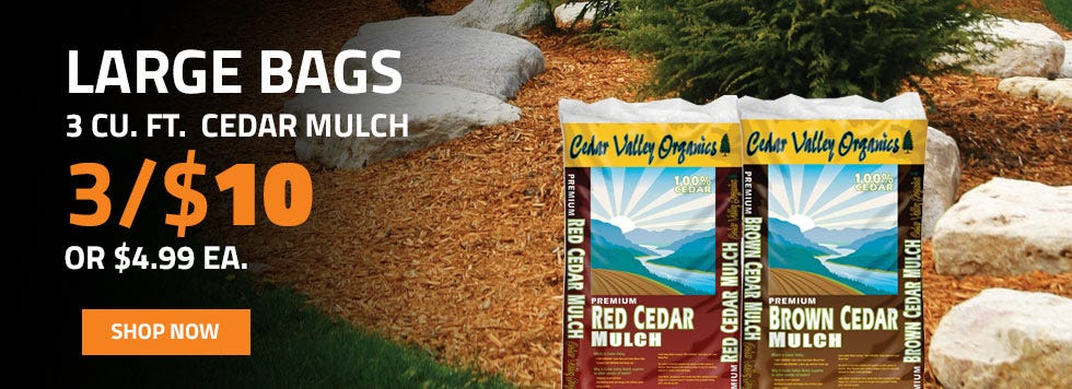 LARGE BAG MULCH ON SALE