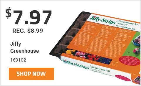 Jiffy Greenhouse On Sale