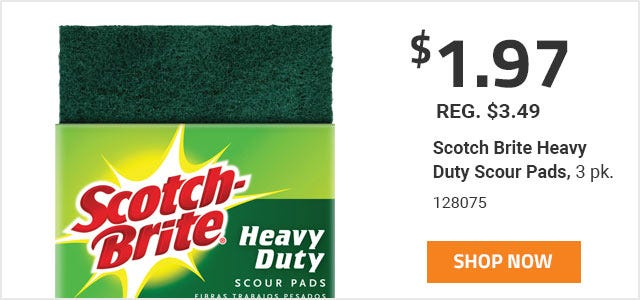 Scotch Brite Heavy Duty Scour Pads