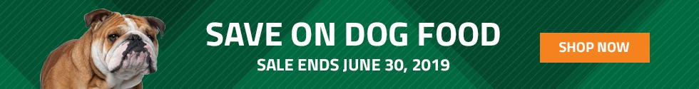 We have many pet food on sale for this month of June. Sale ends June 30th 2019.
