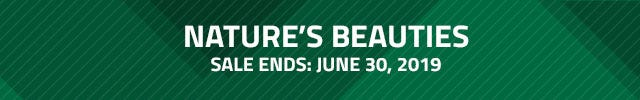 Nature's Beauties. Save on select bird food for the month of June. On sale until June 30th 2019.