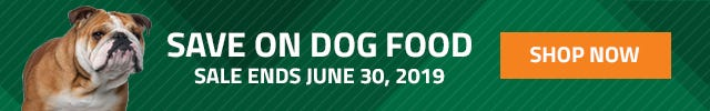 Save on Pet pet food for the month of June. Sale ends June 30, 2019