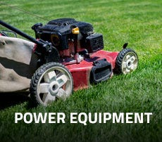 Get All Of Your Outdoor Power Equipment Here