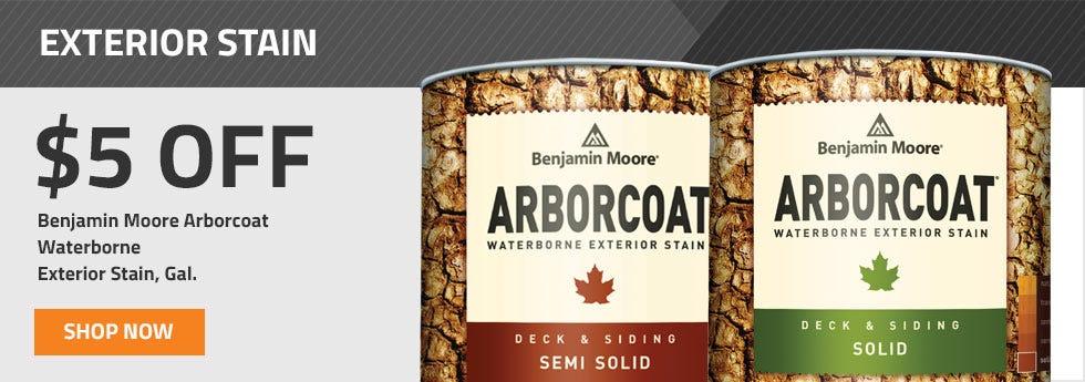 Benjamin Moore Arborcoat 5 OFF Sale on Gallons