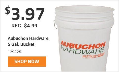 Aubuchon Hardware 5 Gal. Bucket