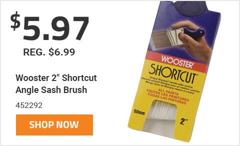 Wooster 2 In. Shortcut Brush