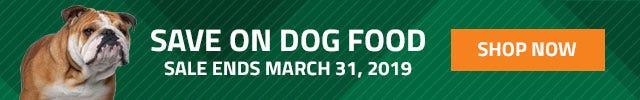 March Dog Food Sale