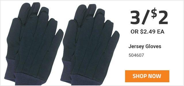 Boss Brown Jersey Gloves