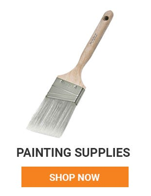 We have all your painting supplies. Make sure you have what you need so you only have to make one trip to the hardware store. Shop Now.