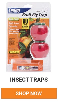Trap those pesky bugs. We have a variety of traps to choose from. Shop now.
