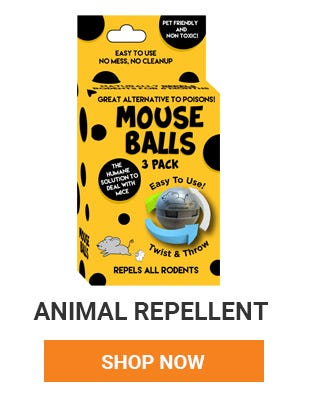 Keep animals away from your house and garden with repellent. Shop now.