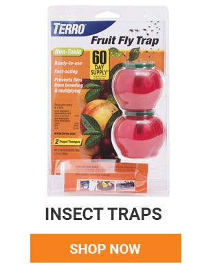 Get rid of those pesky insects. We have a variety of traps for whatever your needs.