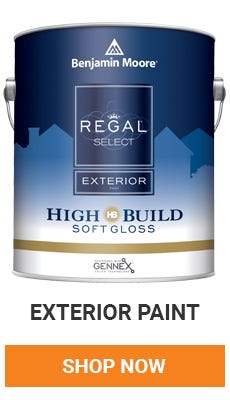 Does your house need a fresh coat? Benjamin Moore Exterior Paint is excellent paint for coverage that is going to last. Shop now