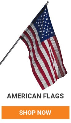 American Pride. Get your American Flag available in many sizes. Shop Now.