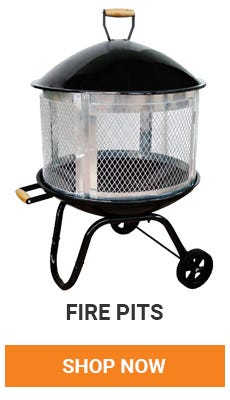 Fire pits are perfect for backyard gatherings. Pick on up today.