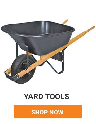 Get your yard picked up and ready for summer. We have all the tools you need.