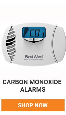 Carbon monoxide is the silent killer. You should have a Carbon Monoxide detector on every floor to keep you and your family safe. Shop Now.