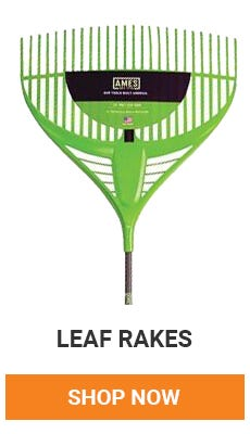 Leaves are starting to fall. Time to get raking. Shop Now.