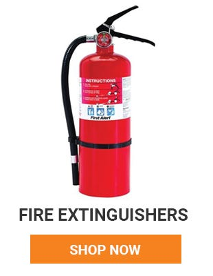 Make sure every floor has a fire extinguisher to help keep your home safe. Shop Now.