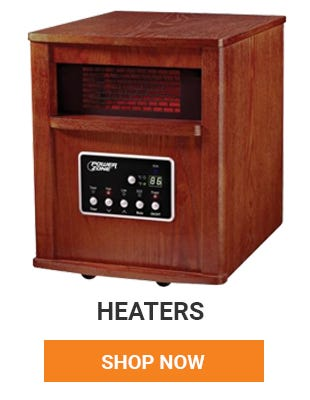 It's starting to get cold. We have a wide variety of heaters to keep you warm this winter. Shop Now.