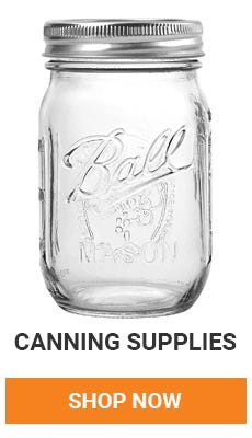 We have everything you need for canning. shop now.