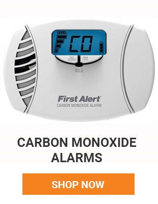 Protect you and your family by having a carbon monoxide detector. There should be one on every floor. Shop now.