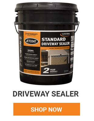 Get your driveway filled and sealed before winter hits. Shop Driveway Sealer.