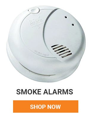 Protect you and your family. Make sure you have a smoke dector in your house and in every bedroom. Shop Smoke Alarms now.