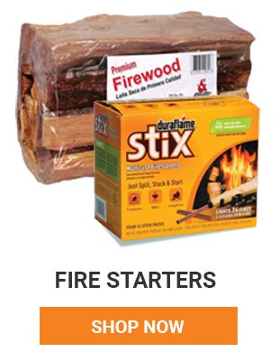 With the cooler weather let's get things heated up. We have all your fire starting needs. Shop Now.