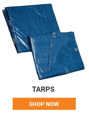 Get ready for winter by getting things covered, wrapped and protected. We have a variety of tarps to choose from. Shop Now.