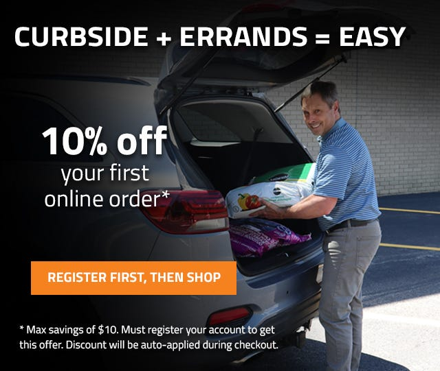 Get 10 percent off your first order.